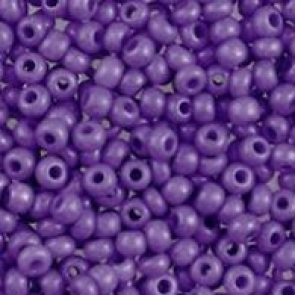 EFCO steklene perle 3,5 mm, neprosojne, lila barve, 17 g