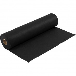 filc 1,5 mm, črn, 45 x 100 cm, 180-200 g/m2, 1 kos