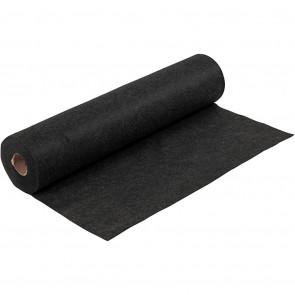 filc 1,5 mm, črn - teksturiran, 45 x 100 cm, 180-200 g/m2, 1 kos