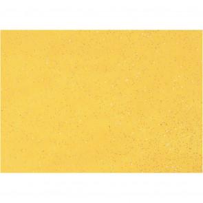 filc debeline 1 mm, rumen z bleščicami, A4 21x30 cm, 1 kos