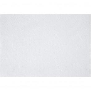 filc debeline 1.5-2 mm, bele b., A4 21x30 cm, 1 kos