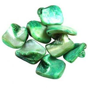školjke, 1 - 2,5 cm, zelene, 50 gr
