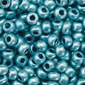 EFCO steklene perle 3,5 mm, modre, kovinske barve, 17 g