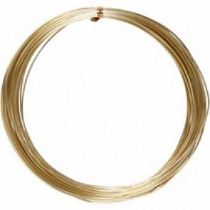 ALU barvna žica za oblikovanje, 1 mm, dolžina: 16 m, zlata