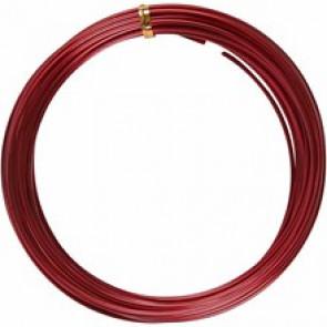 barvna žica za oblikovanje, 2 mm, dolžina: 10 m, rdeča