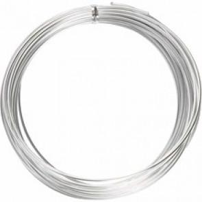 barvna žica za oblikovanje, 2 mm, dolžina: 10 m, srebrna