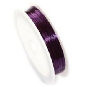 barvna žica za oblikovanje, 0,4 mm, dolžina: 17 m, vijola