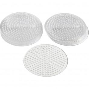 plošča za hama perle 5x5 mm - krog 8,5 cm, 1 kos