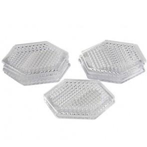 plošča za hama perle 5x5mm - šestkotnik 7,5 cm, 1 kos