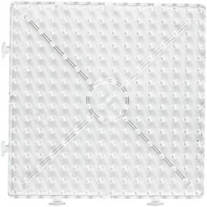 plošča za hama perle 10x10 mm - kvadrat 15x15 cm, 1 kos