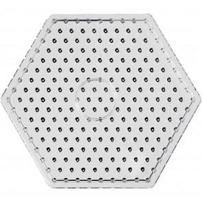 plošča za hama perle 10x10 mm - šestkotnik 17 cm, 1 kos