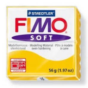 FIMO SOFT modelirna masa, rumena (16), 56 g
