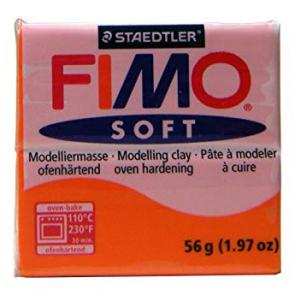 FIMO SOFT modelirna masa, mandarinina b. (42), 56 g