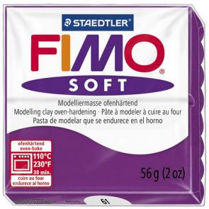 FIMO SOFT modelirna masa, škrlatna b. (61), 56 g