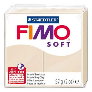 FIMO SOFT modelirna masa, peščena (70), 57 g