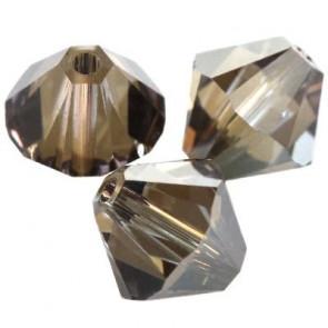 perle Swarovski 4 mm, crystal bronze shade, 1 kos