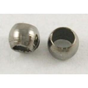 štoparji 2 mm, črne barve, brez niklja, 1000 kos