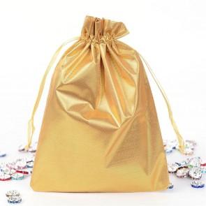 vrečka svetleča 17.5x13 cm, zlata, 1 kos