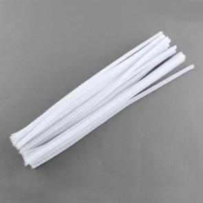 kosmata žica 300 x 5 mm, bela, 1 kos