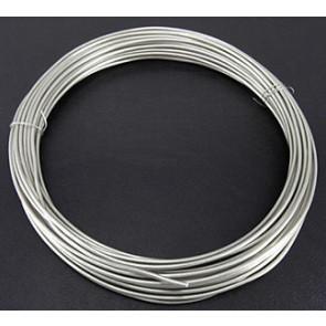 alu barvna žica za oblikovanje, 2 mm, srebrne b., dolžina: 10 m