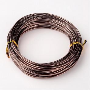 barvna žica za oblikovanje, 1 mm, rjava, dolžina: 10 m