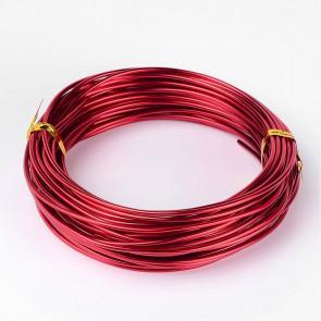 barvna žica za oblikovanje, 1 mm, rdeča, dolžina: 10 m