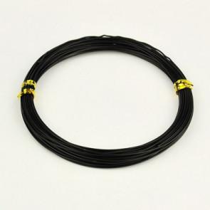 barvna žica za oblikovanje, 1 mm, črne b., dolžina: 10 m