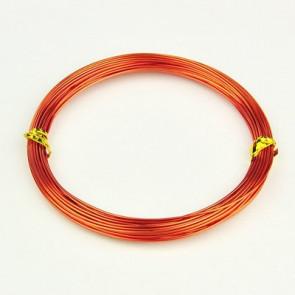 barvna žica za oblikovanje, 1 mm, oranžna, dolžina: 10 m