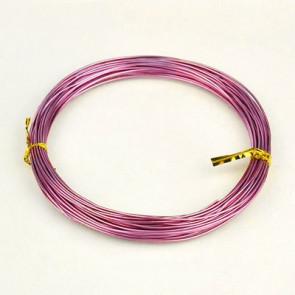 barvna žica za oblikovanje, 1 mm, sv. roza, dolžina: 10 m