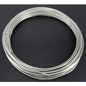 barvna žica za oblikovanje, 1 mm, srebrne b., dolžina: 10 m