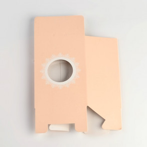 darilna embalaža 150x98x60 mm, marelične barve, 1 kos