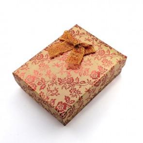 škatla za nakit 93x72x29 mm, zlato oranžne, 1 kos