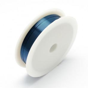 barvna žica za oblikovanje, modra, 0,30 mm, dolžina: 21 m
