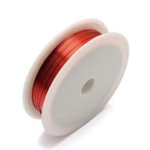 barvna žica za oblikovanje, oranžno rdeča, 0,30 mm, dolžina: 21 m
