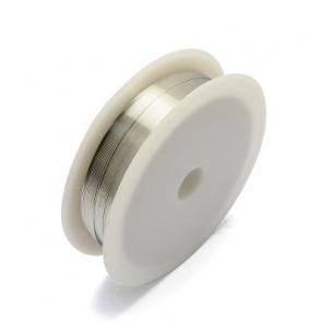 barvna žica za oblikovanje, srebrna, 0,30 mm, dolžina: 21 m