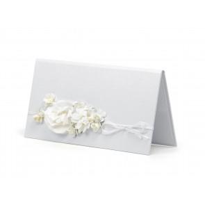 darilna škatlica za denar, 10,5x19,5 cm, bela, 1 kos
