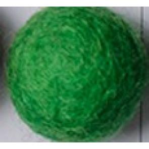 filc kroglice 2 cm, forest green, 1 kos