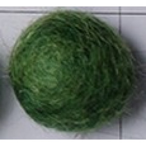 filc kroglice 2 cm, moss green, 1 kos