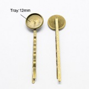 lasnica 54x14 mm, antik, brez niklja, 1 kos