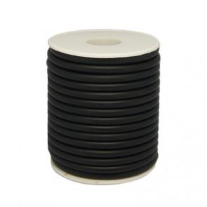 kavčuk osnova (gumi), debelina: 4 mm, črne b., brez  luknje, 1 m