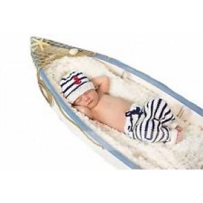 Zaspančki - komplet mornarček, 1 kos