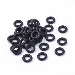 obročki iz kavčuka (gumi), štoparji, notranji premer 4,2 mm, 10 kos