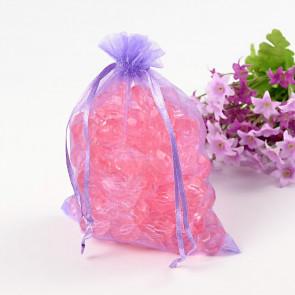 organza vrečke 13x18 cm, vijola, 1 kos