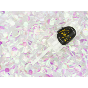 """konfeti """"Push Pop"""", prelivajoča folija, 15 mm, 1 kos"""