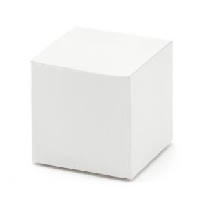 darilna škatla, 5x5x5cm, bela, 1 kos