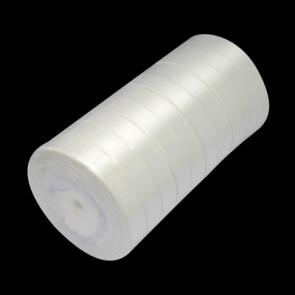 satenast trak mlečno bel, širina: 20 mm, dolžina: 22 m
