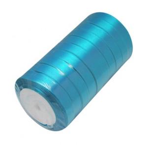 satenast trak mornarsko modra, širina: 6 mm, dolžina: 22 m