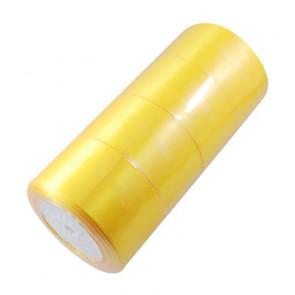 satenast trak zlato rumen, širina: 50 mm, dolžina: 22 m
