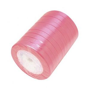 satenast trak roza, širina: 6 mm, dolžina: 22 m