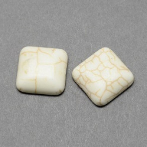 kapljica iz sint. kamna 10 x 10 mm, beige, 1 kos
